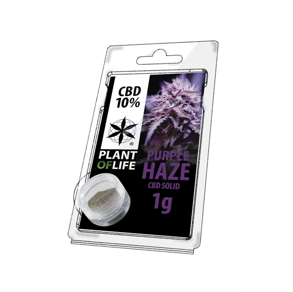 CBD Hash Purple Haze 10%-1g