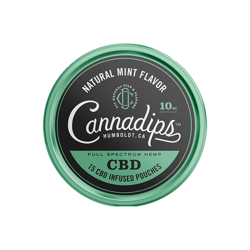 Cannadips CBD Natural Mint 150mg