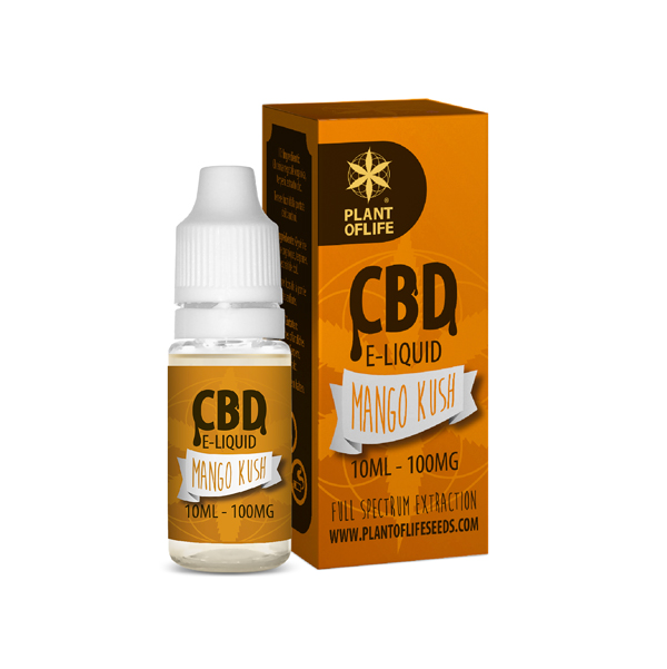 CBD e-liquid Mango Kush 10ml