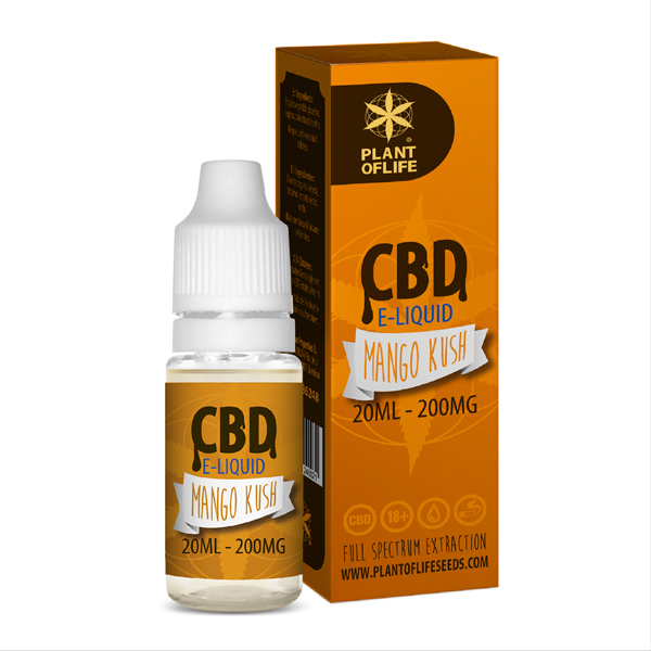 CBD e-liquid Mango Kush 20ml
