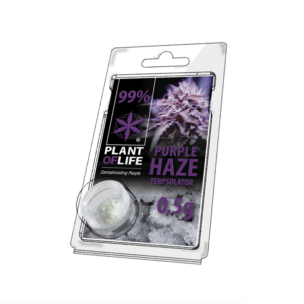 CBD krystal Purple Haze 0,5g