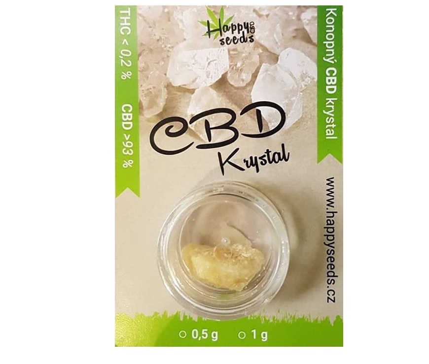 Happy seeds CBD krystal 93%