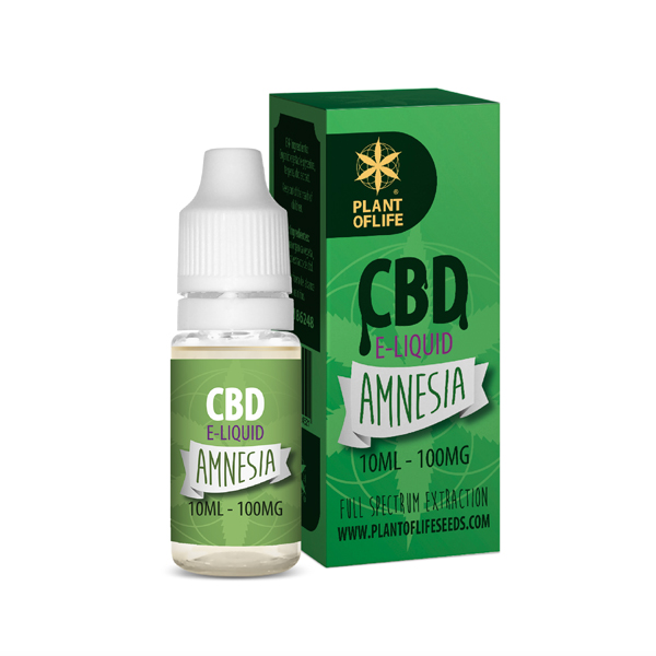 CBD e-liquid Amnesia 10ml