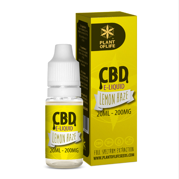 CBD e-liquid Lemon Haze 20ml
