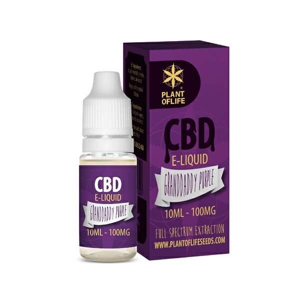 CBD e-liquid Granddaddy Purple 10ml