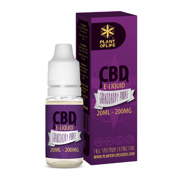 CBD e-liquid Granddaddy Purple 20ml