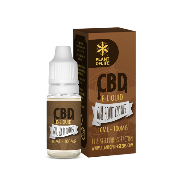 CBD e-liquid Girl Scout Cookies 10ml