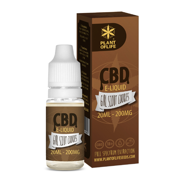 CBD e-liquid Girl Scout Cookies 20ml