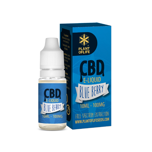 CBD e-liquid Blueberry 10ml